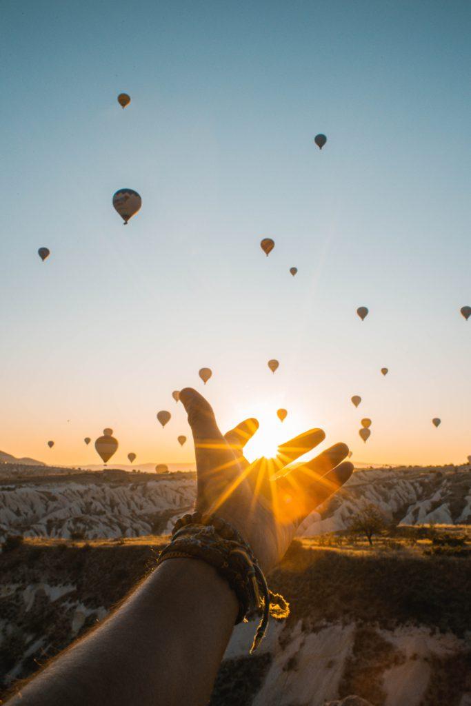 Ballons-sky-travel