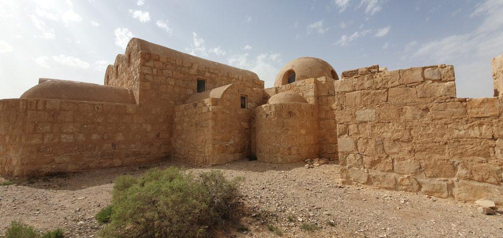 Qasr Amra Sand Castle in East Jordan