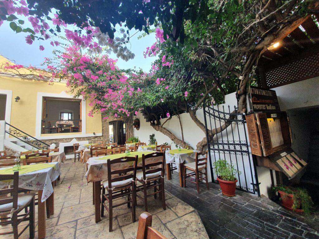 Avli Restaurant Kos Greece