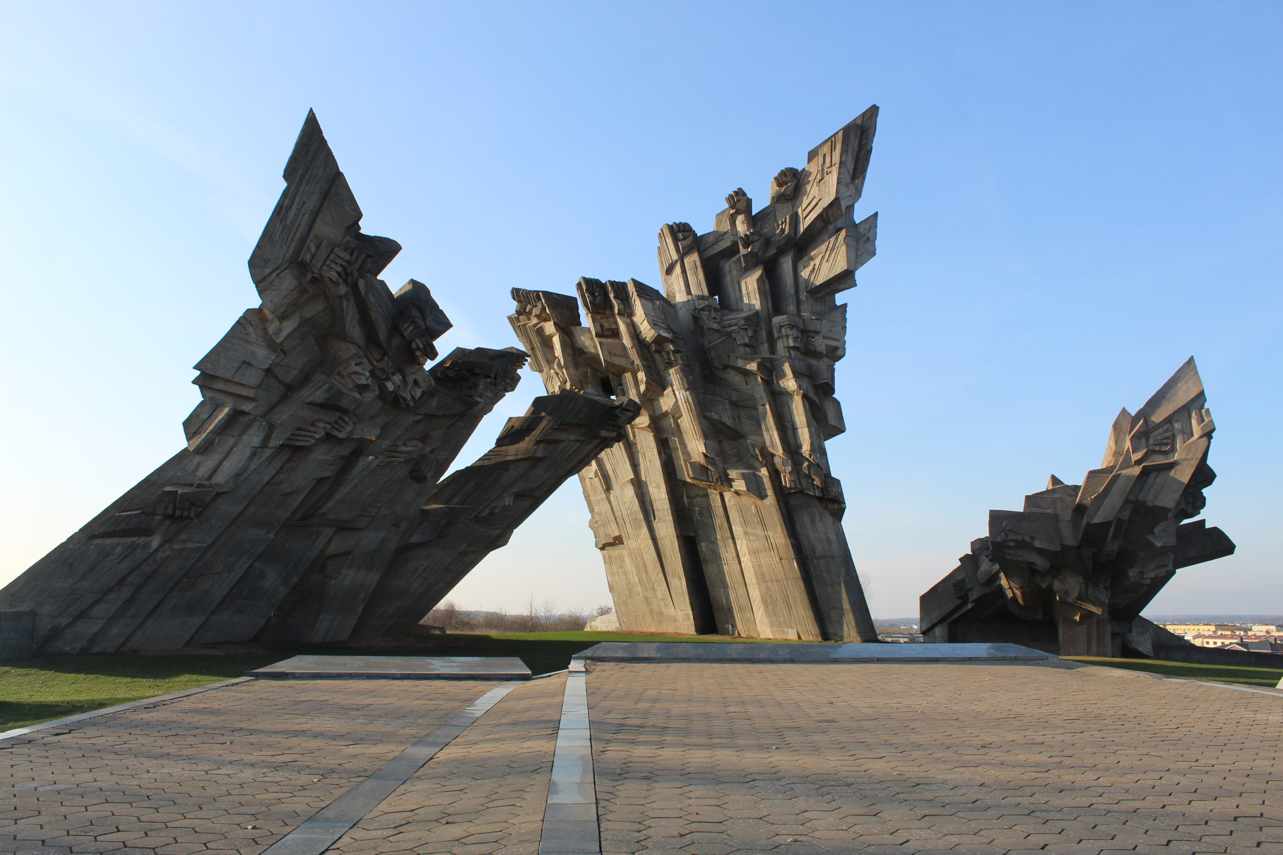 Monument to the Victims of Fascism Kaunas, Lithuania is A Holocaust Site in Europe that must be visited