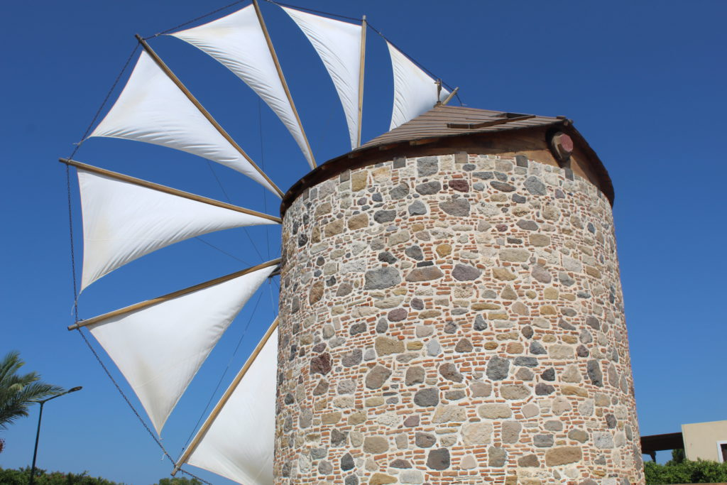 The Traditional Windmill of Antimachia