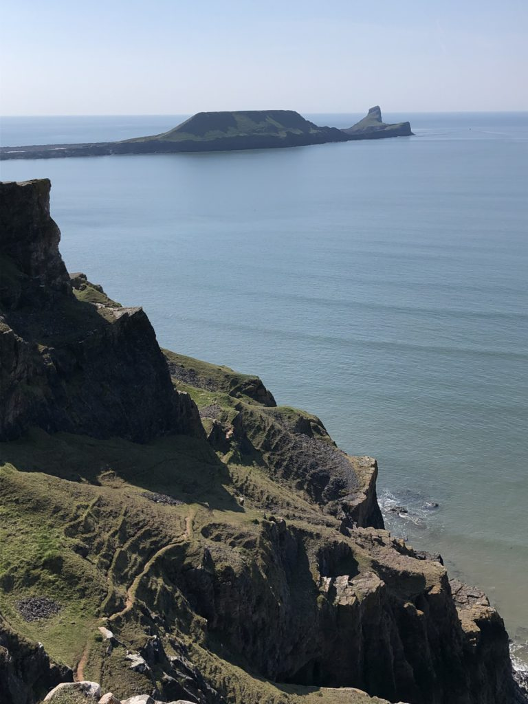 Worms Head at Rhossili is a great place to visit in the Gower for all
