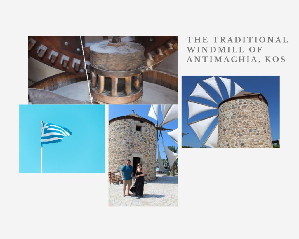 The Traditional Windmill Of Antimachia is an awesome place to visit on Kos Island, Greece.
