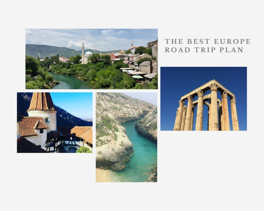 The Best Europe Road Trip Plan for anyone planning to travel across Europe