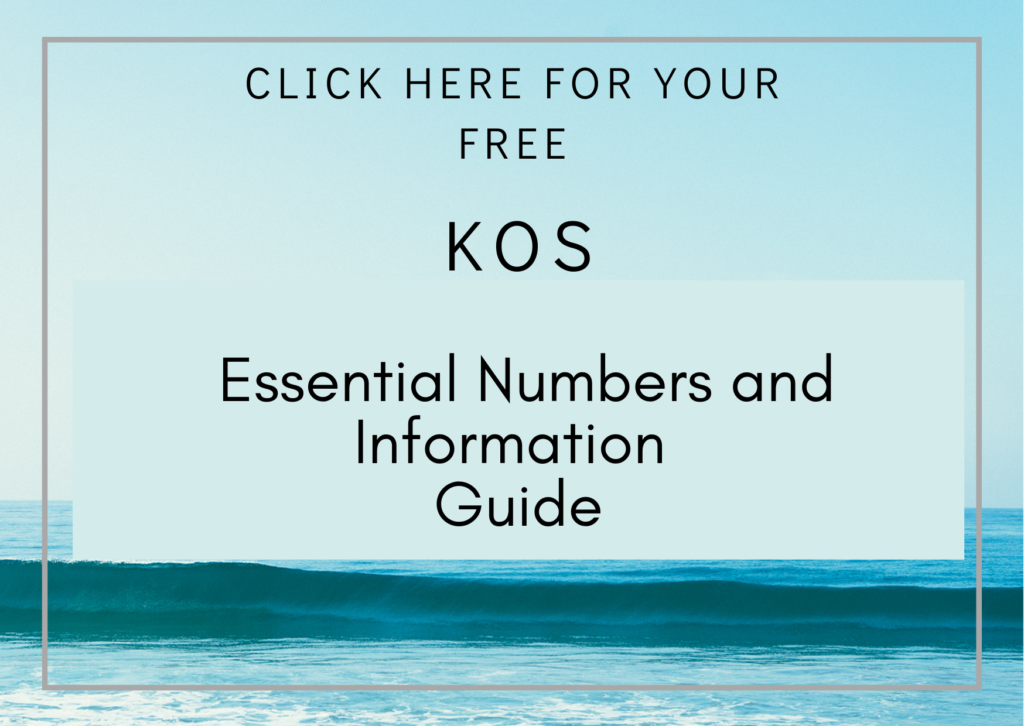 essential numbers and information guide for kos