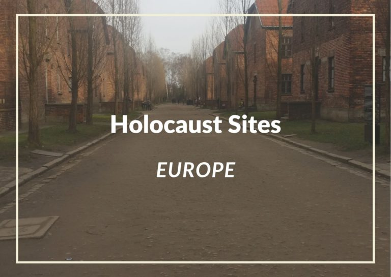We can never forget:Must Visit Holocaust Sites Across Europe